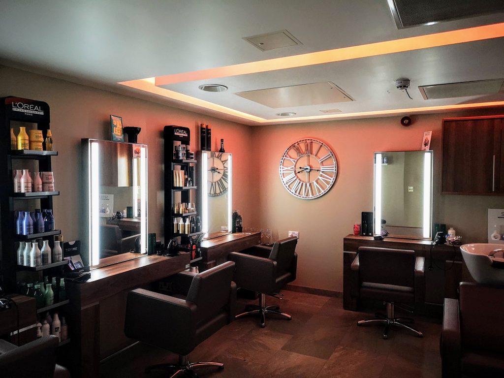 Hair Salon at Finlake Spa